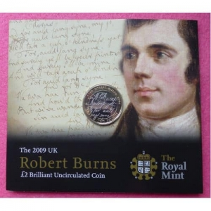 2009 ROBERT BURNS £2 BU PACK