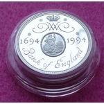 1994 PIEDFORT BANK OF ENGLAND SILVER TWO POUND PROOF COIN6