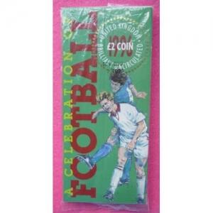 1996 FOOTBALL £2 BU