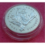 2004 PLATINUM ENTENTE CORDIALE 100TH ANNIVERSARY 3OZ  PROOF COIN