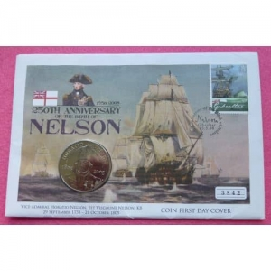 2005 NELSON £5 FDC (2)