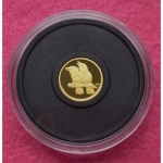 2009 AUSTRALIA GOLD KOOKABURRA FIVE DOLLARS PROOF COIN (4)
