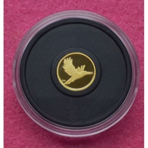 2009 AUSTRALIA GOLD KOOKABURRA FIVE DOLLARS PROOF COIN (5)