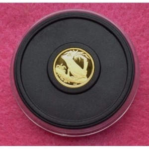 2009 AUSTRALIA GOLD KOOKABURRA FIVE DOLLARS PROOF COIN (8)