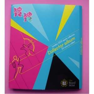 2012 OLYMPIC 50P SET