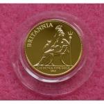 2013 GOLD BRITANNIA TEN POUNDS BU COIN (2)