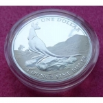 2013 AUSTRALIA  FIRST SIGHTING KANGAROO $1 SILVER PROOF COIN