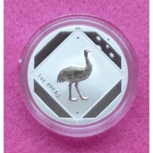 2015 AUSTRALIA EMU SILVER $1 COIN (2)