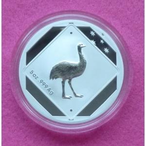 2015 AUSTRALIA EMU SILVER 5oz  $10 COIN (7)