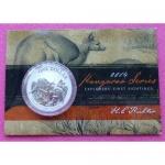 2015 AUSTRALIA WORLD MONEY FAIR  KOOKABURRA 1OZ PROOF COIN
