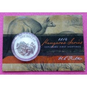 2015 AUSTRALIA WORLD MONEY FAIR  KOOKABURRA 1OZ PROOF COIN