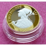 2015 DEFINITIVE BRITANNIA SILVER TWO POUND PROOF COIN