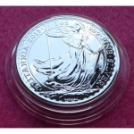 2015 SMOOTH BRITANNIA TWO POUND SILVER BU COIN
