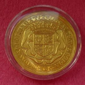 1489 GOLD SOVEREIGN REPLICA COIN (2)