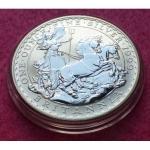 1999 SILVER BRITANNIA £2 BU COIN
