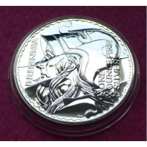 2003 SILVER BRITANNIA £2 BU COIN (3)