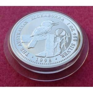 1998 SILVER KOOKABURRA IRELAND PRIVY $1 COIN (2)