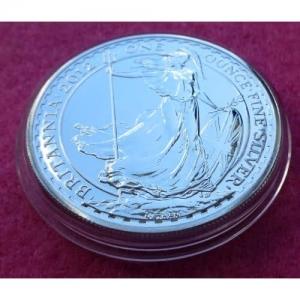 2012 SILVER BRITANNIA £2 BU COIN
