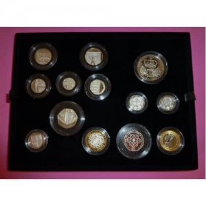 2010 ROYAL MINT 13 SILVER PROOF COIN SET