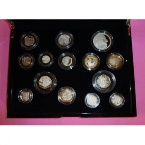 2011 ROYAL MINT 14 COIN SILVER PROOF SET