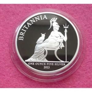 2013 SILVER BRITANNIA £2 PROOF COIN