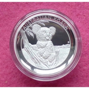 2015 AUSTRALIA KOALA HIGH RELIEF $1 SILVER PROOF COIN