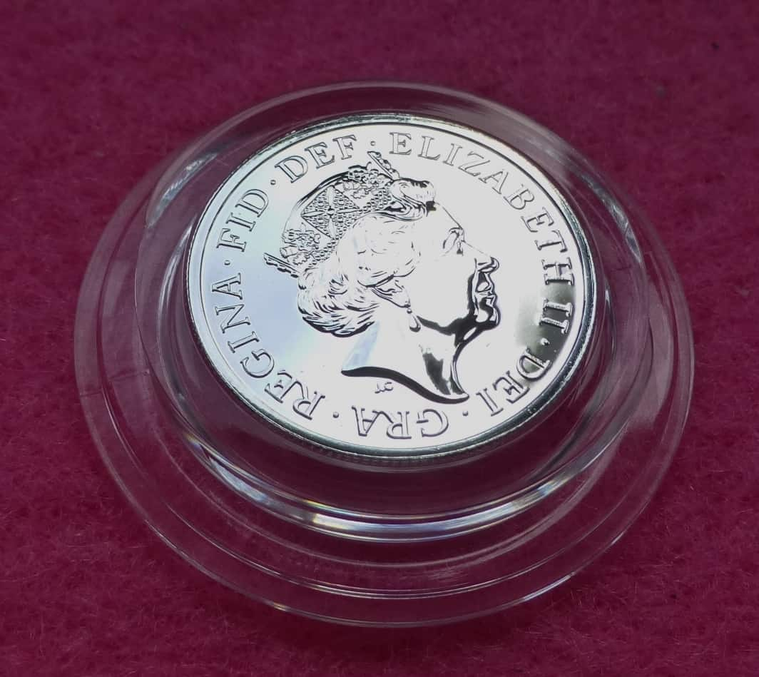 2016 Silver Sixpence Limited Edition Box And Booklet The