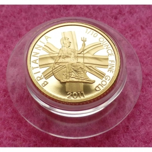 2011 GOLD BRITANNIA PROOF £10 COIN