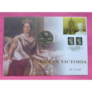 2001-queen-victoria-100th-anniversay-5-fdc-pnc