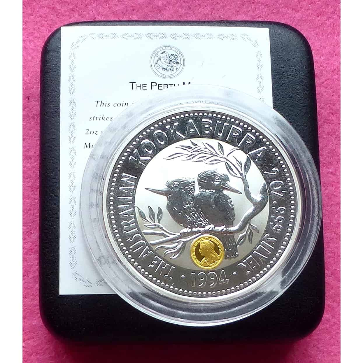 Perth Mint 1994 $1 Kookaburra 1oz silver Australian Coin
