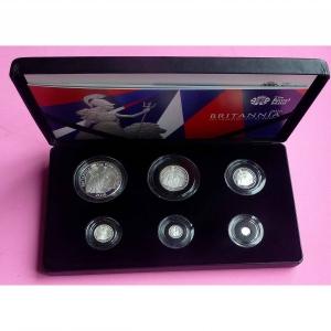 2016 BRITANNIA SILVER PROOF 6 COIN SET 2