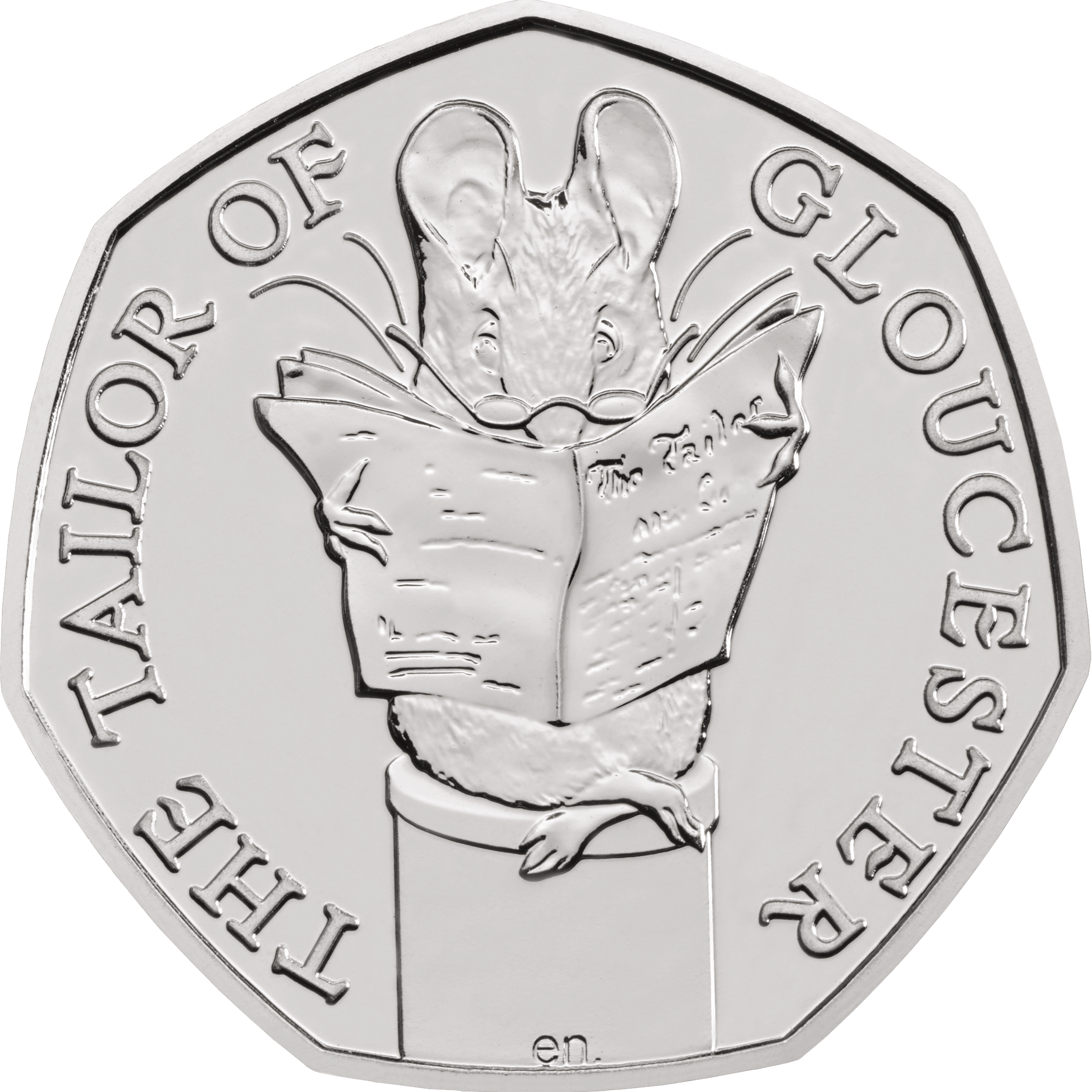 2018 Tailor Of Gloucester 50p Fifty Pence Coin In Gift
