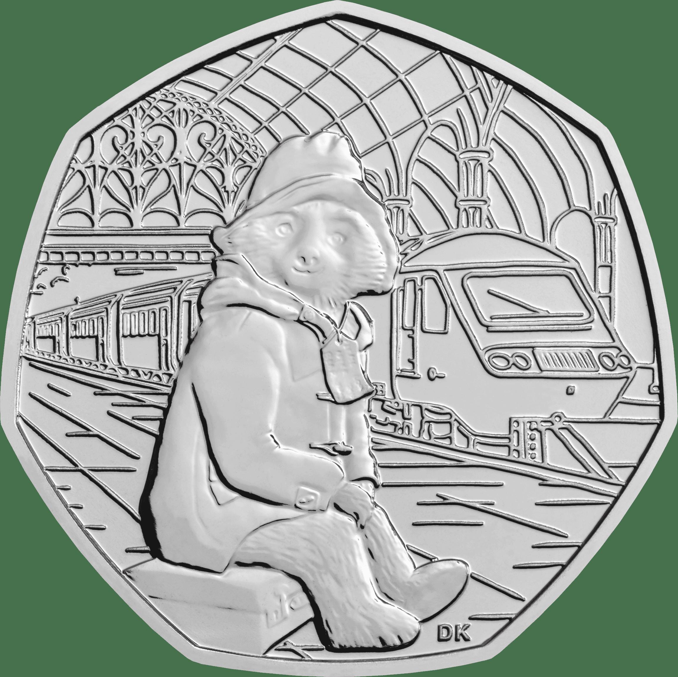 2018 50p coins paddington bear