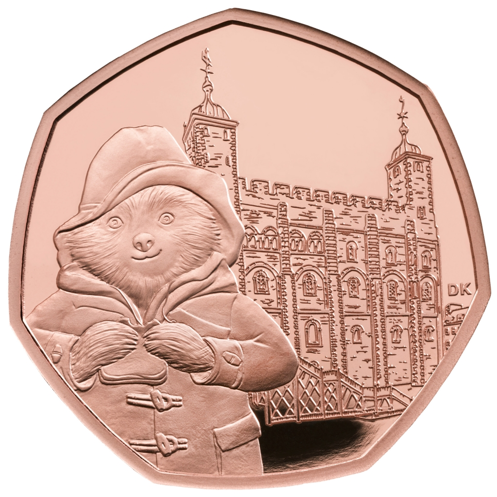 50p coins paddington
