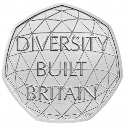 2020 Project Crown 50p Brilliant Uncirculated Coin reverse