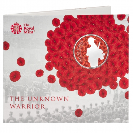 The Remembrance Day 2020 UK £5 Brilliant Uncirculated Coin front - UK20RDBU