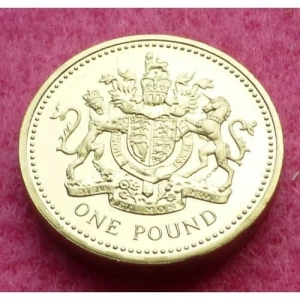 1993-ROYAL-MINT-ROYAL-SHIELD-OF-ARMS-1-ONE-POUND-COIN-MINT-CONDITION-231236224169