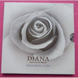 1999-ROYAL-MINT-PRINCESS-DIANA-5-FIVE-POUND-MEMORIAL-COIN-RARE-331211121091