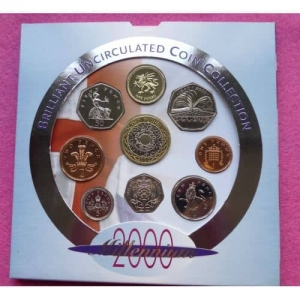 2000-ROYAL-MINT-BRILLIANT-UNCIRCULATED-COIN-SET-231227267277