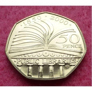 2000-ROYAL-MINT-PUBLIC-LIBRARIES-FIFTY-PENCE-50P-BRILLIANT-UNCIRCULATED-COIN-331207841767