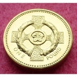 2001-ROYAL-MINT-CELTIC-CROSS-1-ONE-POUND-BU-COIN-231237822826