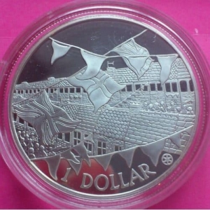 2002-COOK-ISLANDS-GOLDEN-JUBILEE-SILVER-GOLD-PROOF-1-COIN-WITH-COA-330877342483