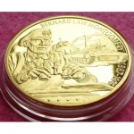 2003-EAST-CARIBBEAN-GREAT-BRITISH-MILITARY-LEADERS-2-PIEDFORT-PROOF-COIN-COA-231219665193