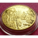 2003-EAST-CARIBBEAN-GREAT-BRITISH-MILITARY-LEADERS-2-PIEDFORT-PROOF-COIN-COA-331191279936