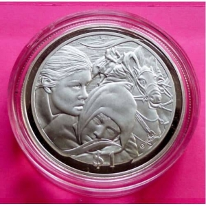 2003-NEW-ZEALAND-SILVER-LORD-OF-THE-RINGS-FLIGHT-TO-FORD-1-PROOF-COIN-COA-330918846085