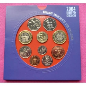 2004-ROYAL-MINT-BRILLIANT-UNCIRCULATED-COIN-SET-331199175727