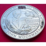 2005-ALDERNEY-THE-ROYAL-NAVY-JOHN-WOODWARD-5-SILVER-PROOF-COIN-COA-231189236264