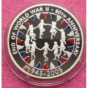2005-ASCENSION-END-OF-WWII-60TH-ANNIVERSARY-FIFTY-PENCE-SILVER-PROOF-COIN-COA-331199074575