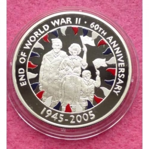 2005-FALKLAND-ISLANDS-END-OF-WWII-60TH-ANN-FIFTY-PENCE-SILVER-PROOF-COIN-COA-231227181020