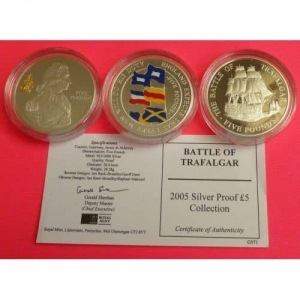 2005-GUERNSEY-JERSEY-ALDERNEY-BATTLE-OF-TRAFALGAR-3-SILVER-PROOF-5-COIN-SET-231192814379
